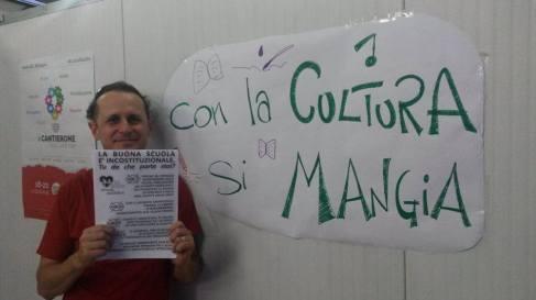 Lo scrittore bolognese Danilo Masotti
