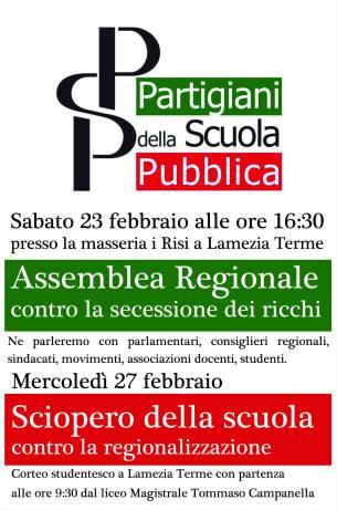 locandina psp regionalizzazione 2019
